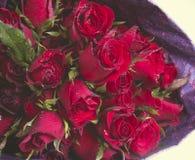 Bouquet des roses rouges Photos stock