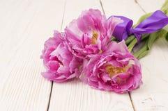 Bouquet des tulipes Photographie stock libre de droits