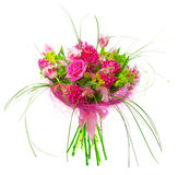 Bouquet des tulipes et des roses Image stock