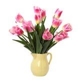 Bouquet des tulipes roses images libres de droits
