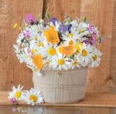 Bouquet des wildflowers Photo stock
