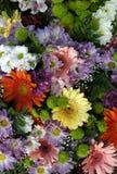 Bouquet différent de fleur Photo stock