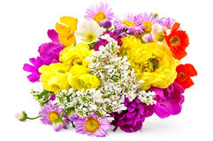 Bouquet of different flowers Royalty Free Stock Photo