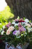 Bouquet of different flowers Royalty Free Stock Photography