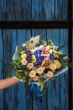Bouquet of different flowers Stock Photography