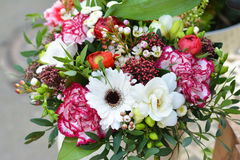 Bouquet of different flowers royalty free stock image