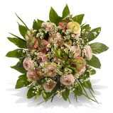 Bouquet in Discreet Colors Royalty Free Stock Photography