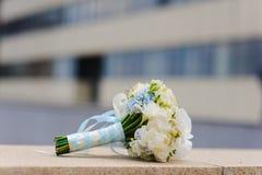 Bouquet doux de mariage Images libres de droits