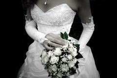 Bouquet+dress Stock Photos
