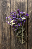 Bouquet of dried meadow flowers Stock Photos