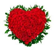 Bouquet de coeur des roses rouges photos stock image 36083643 - Bouquet de roses en forme de coeur ...