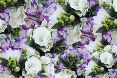 Bouquet with eustomy Stock Photo