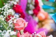 Bouquet fait de roses Image libre de droits