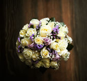 Bouquet of fine flowers for wedding ceremony Royalty Free Stock Photos
