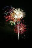 Bouquet of Fireworks Stock Photography
