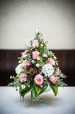 Bouquet of flower on table Stock Photography