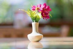 Bouquet of flower in vase Stock Photo