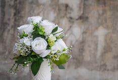 Bouquet flower in vase Stock Image