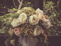 Free Bouquet Flower With Vintage Style Stock Photos - 107411453