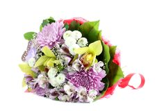 Bouquet flowers Royalty Free Stock Photography
