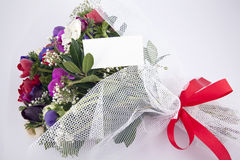 Bouquet of flowers. Beautiful bouquet of colorful flowers Stock Photo