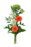 Bouquet of flowers. Isolated bouquet of colorful flowers Royalty Free Stock Photos