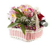 Bouquet flowers. Royalty Free Stock Image