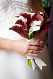 Bouquet of flowers. Wedding photo of a bridesmaids wedding bouquet Royalty Free Stock Photos