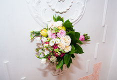 Bouquet of flowers as background Royalty Free Stock Photography