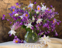 bouquet of flowers bells Royalty Free Stock Photo