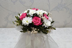 Bouquet of flowers. 1 bridal bouquet of flowers Royalty Free Stock Photo