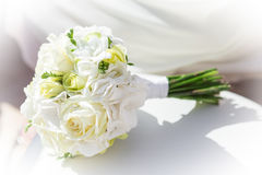 Bouquet of flowers for the bride. Stock Photography