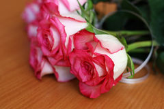 A bouquet of flowers ,composed of roses. Royalty Free Stock Images