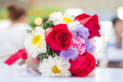 Bouquet of Flowers. Bouquet of Full Color Flowers Royalty Free Stock Photo