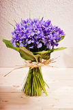 Bouquet of flowers iris. Beautiful fresh bouquet of flowers iris stock images