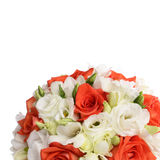 Bouquet of flowers  isolated on white background Stock Image