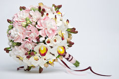 A bouquet of flowers made of acrylic Stock Images