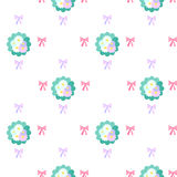 Bouquet of flowers pattern Royalty Free Stock Photo