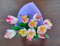 bouquet flowers tulips Стоковая Фотография