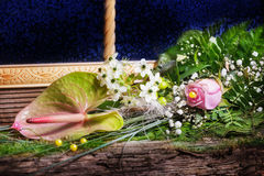 Bouquet of flowers, Valentine's day Royalty Free Stock Images