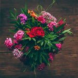 A bouquet of flowers Stock Photos