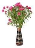 Bouquet of flowers in vase royalty free stock photos