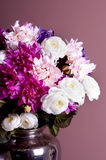 Bouquet of flowers in a vase Royalty Free Stock Photo