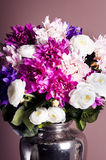 Bouquet of flowers in a vase Stock Images
