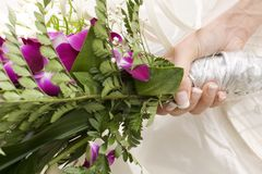 Bouquet of flowers for a wedding Royalty Free Stock Photography