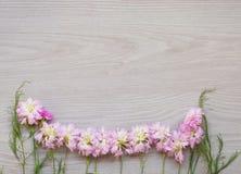 Bouquet frais avec l'orchidée et l'hortensia blancs Images stock