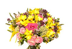 Bouquet of fresh flowers Royalty Free Stock Photos