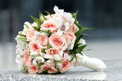 Bouquet of fresh flowers Royalty Free Stock Photo