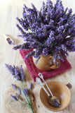 Bouquet of fresh lavender Royalty Free Stock Photography