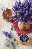 Bouquet of fresh lavender Stock Photo